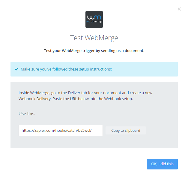 Tutorial Using Zapier and WebMerge to Automate Document Creation – Delivery Document Template