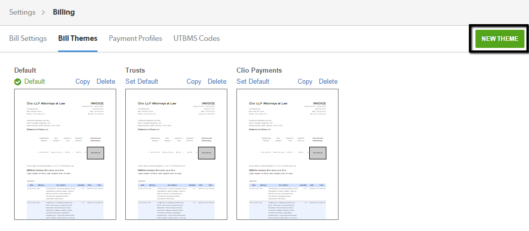 How To Localize Your Invoice Clio Help Center - Invoice in french